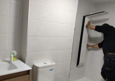 montaje ducha